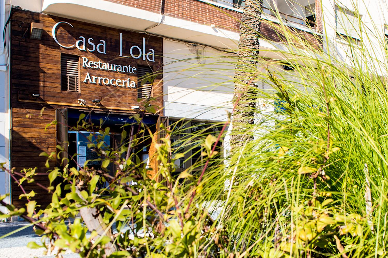 fachada casa lola restaurante